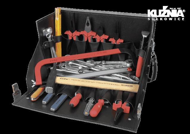 Werkzeugsatz für Elektriker im Koffer
